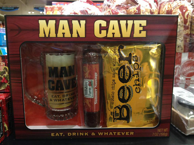 Man Cave gift pack
