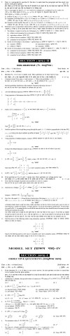 Bihar Board Class XII Science Model Question Papers   Mathematics Image by AglaSem