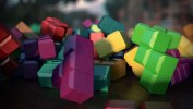 Tetris Collision, Texturing, Lighting, and DOF Test4