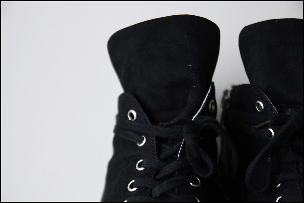 Tuukka13 - My New Rick Owens Sneakers - Converse-Style Black Canvas - 5