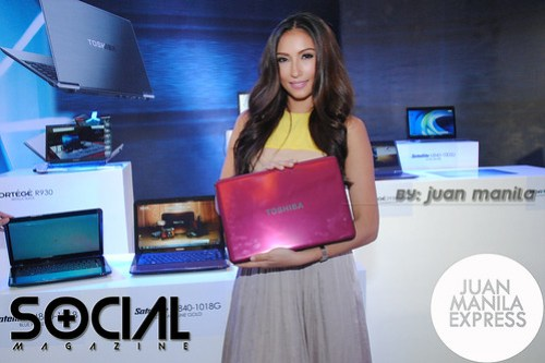 TOSHIBA with Solenn Heussaff.