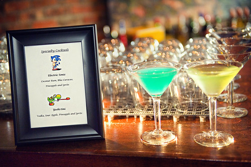 Video Game Themed Cocktails