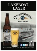 Lakeboat Lager   Cannery Brewing Company