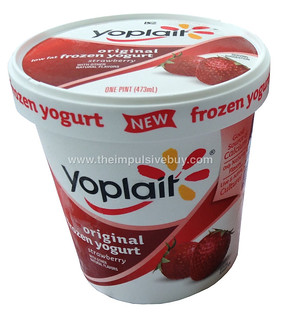 Yoplait Strawberry Original Frozen Yogurt