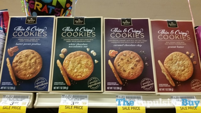 Safeway Signature Select Thin & Crispy Cookies