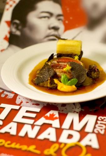 Team Canada Poster + Beef Tenderloin