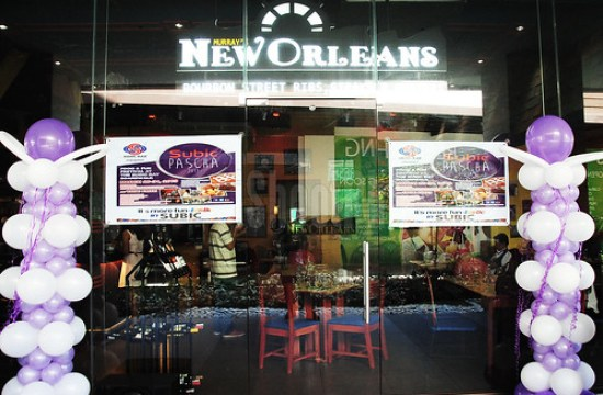 New Orleans Harbor Point is just one of the many restaurants that Raymund Magdaluyo happens to own.
