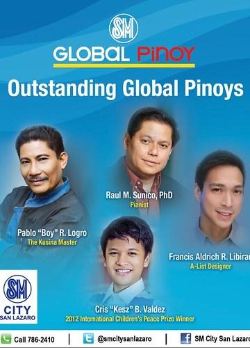 Outstanding Global Pinoys Awardees.