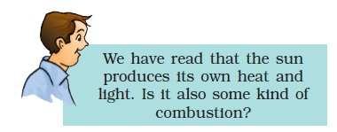 NCERT Class VIII Science Chapter 6 Combustion and Flame Image by AglaSem