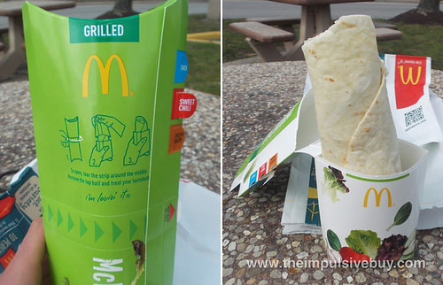 Grilled Chicken Sweet Chili McWrap 5