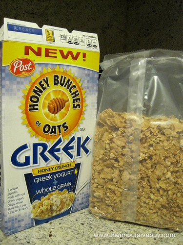 Honey Bunches of Oats Greek Honey Crunch Bag