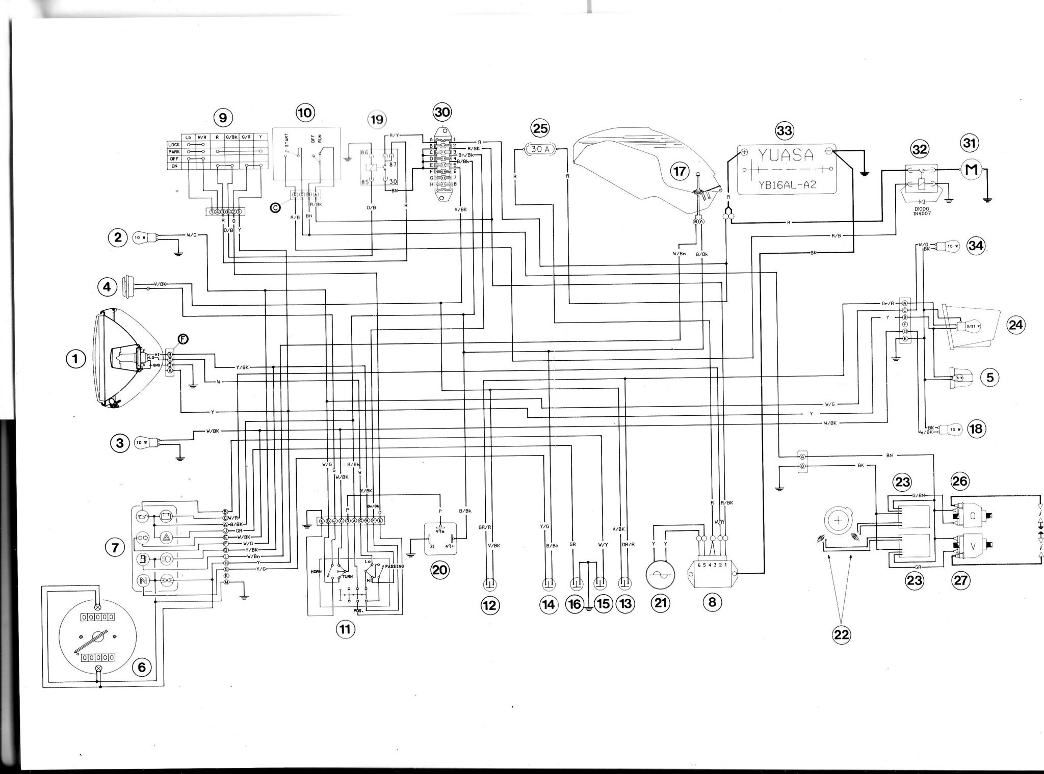 ducati 907 wiring diagram