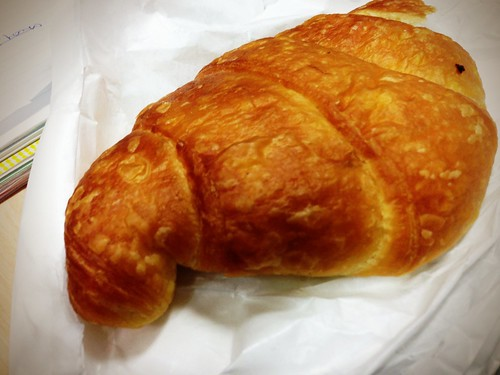 Croissant at Infinity