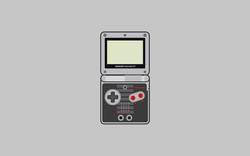 3d Anaglyph Wallpaper Desktop Nintendo Game Boy Advance Sp Wallpapers Matt Gemmell
