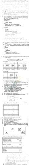 CBSE Board Exam 2013 Class 12 Sample Question Paper for Computer Science