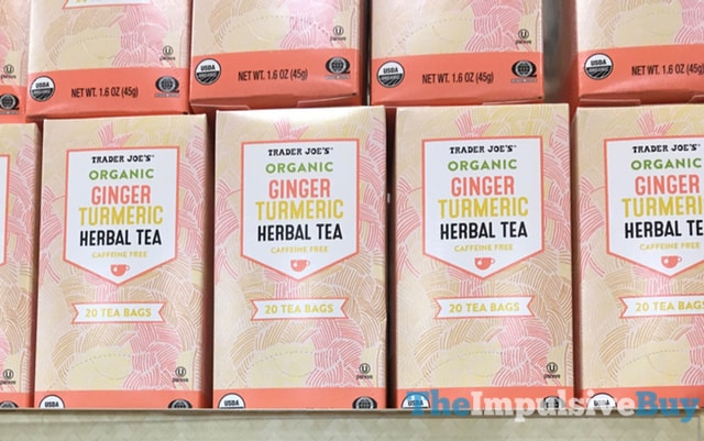 Trader Joe's Organic Ginger Turmeric Herbal Tea