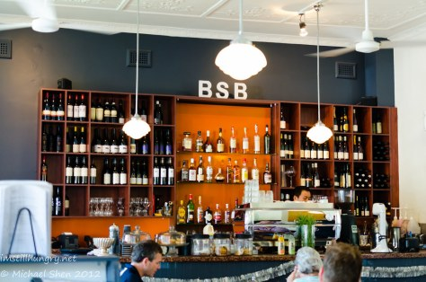 Booth St Bistro - bar area