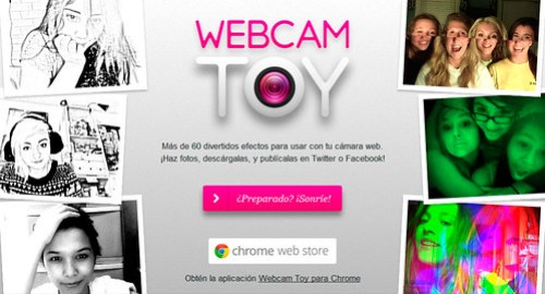 Webcam Toy: Efectos Online para la Camara Web