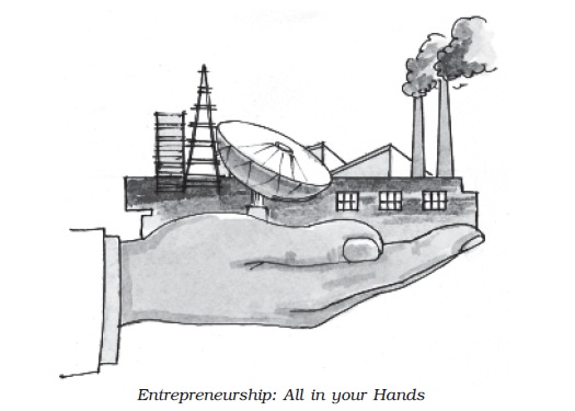 NCERT Class XII Business Studies: Chapter 13   Entrepreneurship Development Image by AglaSem