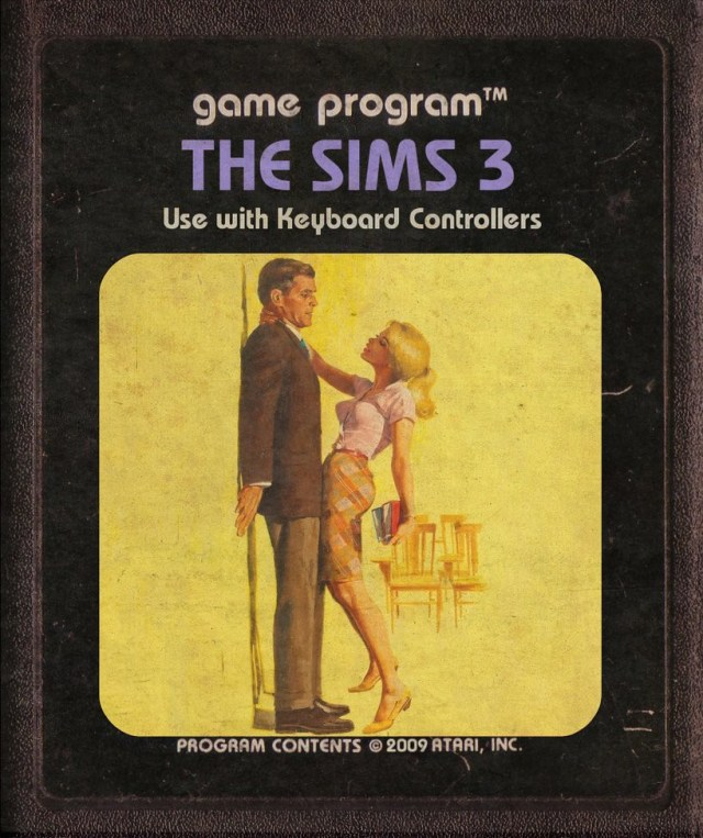 The Sims 3 Atari Cartridge