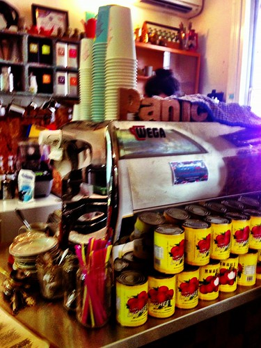 Where the coffee magic happens
