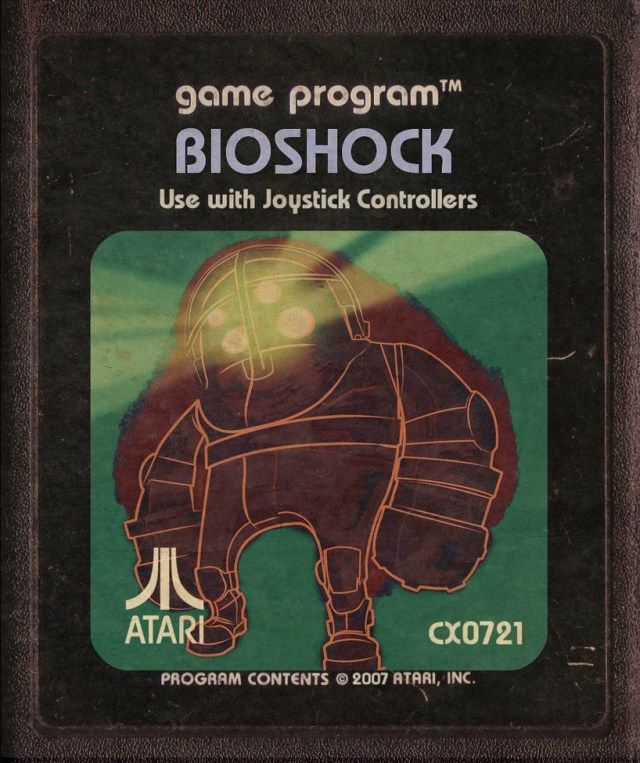 Bioshock Atari Cartridge