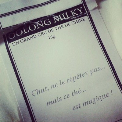 Oolong Milky - Maison Theodor