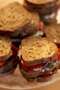 Tuck shop sandwiches