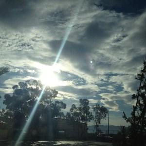 Tras días de oscurida ha salido el sol, lo necesitaba #soymediterránea
