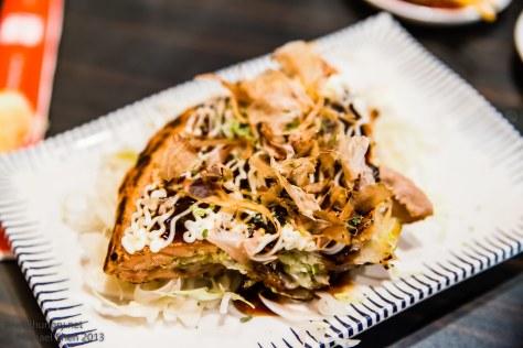 Sushi Samurai - wagyu beef okonomiyaki