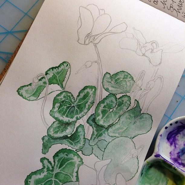 Adding leaf detail...