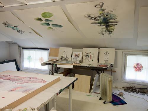 Studio visit with Siobhan Humston