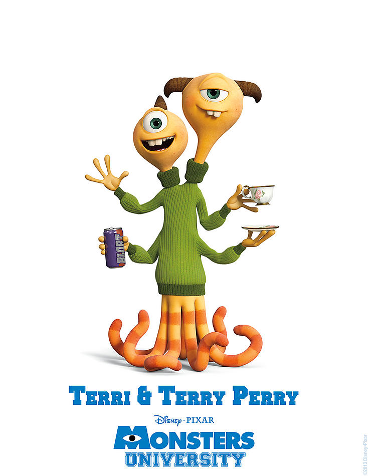 Monster University - Terri & Terry Perry
