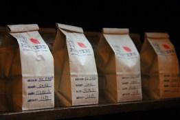 Freshly roasted coffee at East Van Roaster