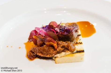 Bistro Lilly duck liver & foie gras