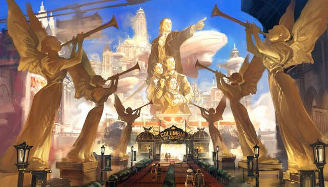 Concept art from Irrational Games