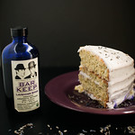 Lemon Poppyseed Layer Cake with Lavender Buttercream & Lemon Curd