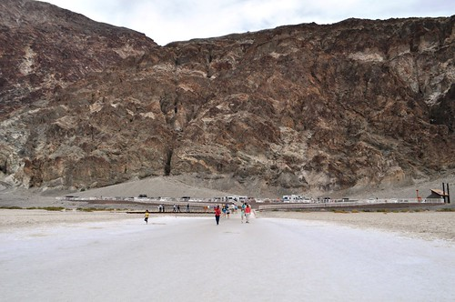 """Can You Spot the """"Sea Level"""" Sign? At Badwater Basin, Death Valley National Park, Calif."""