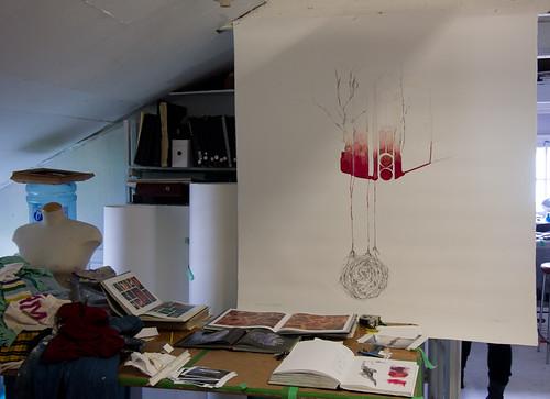 Studio visit with Siobhan Humston-2