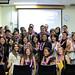School of Travel Industry Management graduates at the school's graduation ceremony.