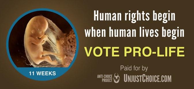Anti-Choice Project Billboard - Human Rights