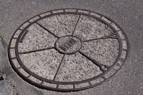 Road Traffic Authority manhole cover