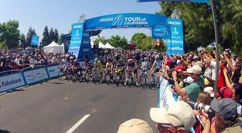 2012 Amgen Tour of California Stage 3 Start DCIM\100GOPRO