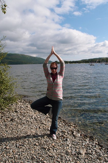 Tree Pose at Lake Coniston