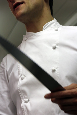 chef and knife