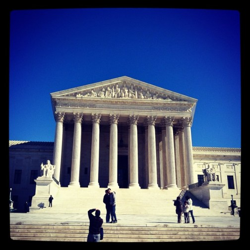 The beautiful Supreme Court building- February 2012