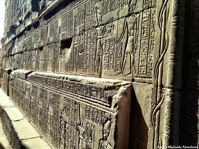 Hieroglyphics at Karnak