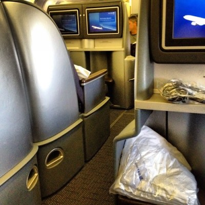 United BusinessFirst on the 767-300