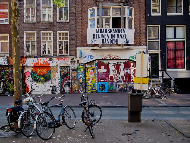 Graffiti in Amsterdam