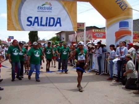 Miguel Lara gana el Ultramaratón de los Cañones 100Km en Guachochi